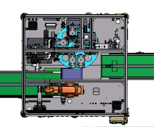 Robotics-Tape Bonding Line