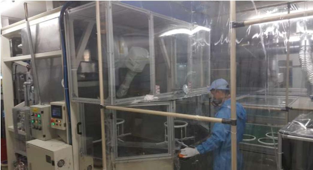 Robotics-Painting Plastic Cover
