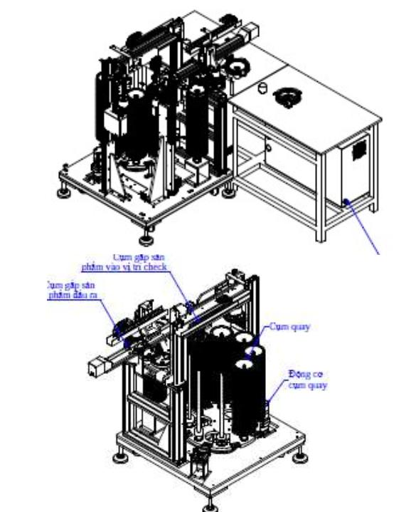 Auto insert diaphragm machine