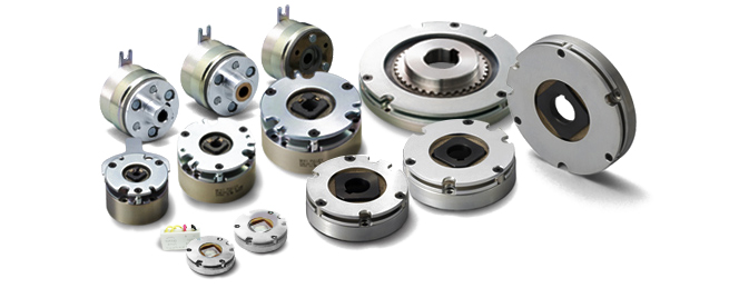 Small size spring actuated brake