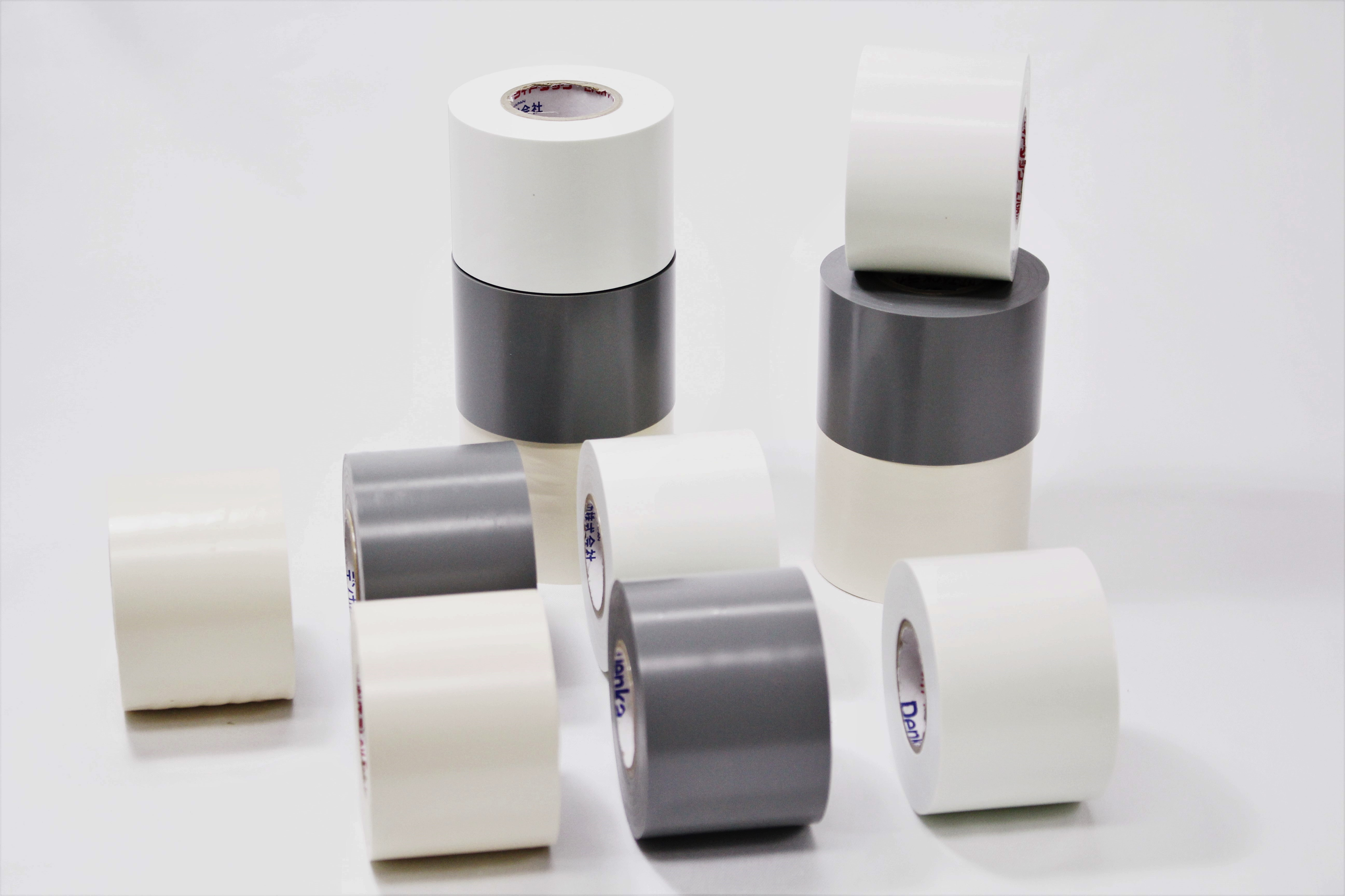 Vinyl tape for air conditioning ducts