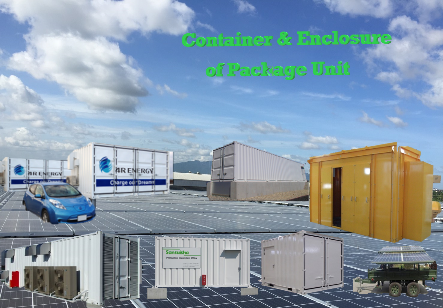 Storage Container, E-House, Cabinet, Case