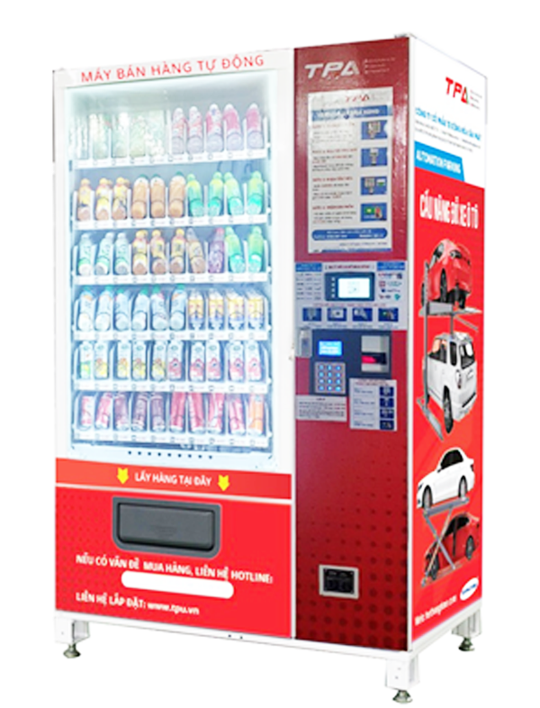 自動販売機:MODEL TPAD.V2001QR